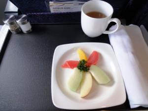 帰り機内食1