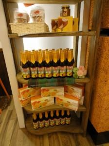 マンゴ商品棚