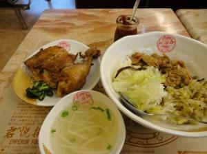 雞腿酸菜飯